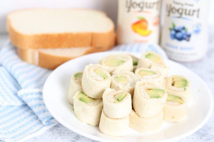 Avocado Hummus Rolls